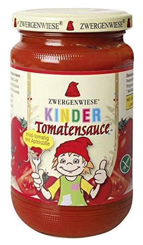 Zwergenwiese Bio Kinder Tomatensauce (12 x 350 gr)