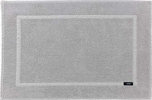 Joop! Tappeto da bagno Pearl grigio chiaro, dimensioni 50 x 70 cm