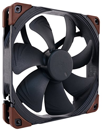 Noctua NF-A14 iPPC-2000 PWM, Heavy Duty Cooling Fan, 4-Pin, 2000 RPM (140mm, Black)