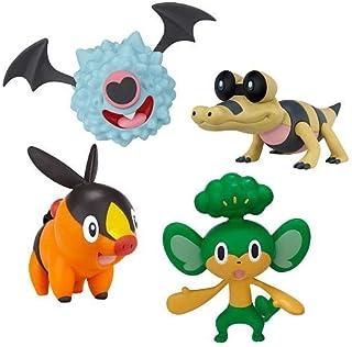 Pokemon Electabuzz Magnemite /& Shinx Basic Figure 4-Pack Raichu