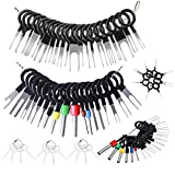 Terminal Removal Tool, 73pcs Pins Terminals Puller Repair Removal Tools for Car, Extractor Connector Depinning Tool Set