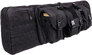 Vioaplem T/áctica 120cm Doble Suave Caja del Rifle del Bolso del Arma del Arma Mochila Bolsa De Transporte Bolsa De Airsoft Pistola Escopeta Acolchado Funda Bolso Al Aire Libre Caza Militar