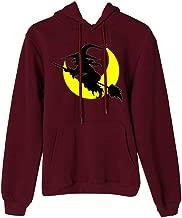 TIFENNY Hoodie for Women Print Pattern Baggy Pullover Tops Long Sleeve Top Pullover Hooded Cap Sweatshirt Blouse