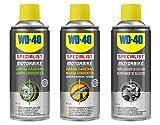 WD-40 Motorbike – Lote cuidado y mantenimiento cadena y acabado y brillo del carenado con Spray...