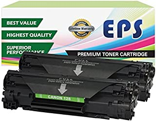 EPS Compatible Toner Cartridges Replacement for Canon 128 - 2pk