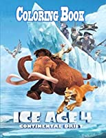Ice Age Coloring Book
