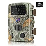 HAWKRAY 1080P 24MP Trail Camera, Hunting Camera with...