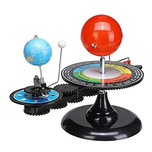 Cacoffay Großes Sonnensystem Modell DIY-Kugel-Erde Sonne-Mond-Orbital Planetarium Educational Für Kind-Kind-Spielzeug-Astronomie Science Kit Lehr