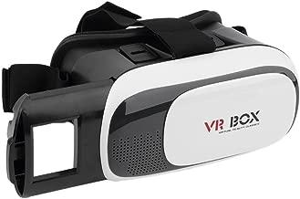 LESHP VR Occhiali VR Box 2.0 3D per Realtà Virtuale Occhiali virtuali con Auricolari Compatibile con iPhone, Samsung LG e altri 4.0 a 6,0 Smartphone