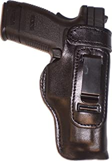 Taurus Public Defender Polymer 2inch Heavy Duty Black Right Hand Inside The Waistband Concealed Carry Gun Holster