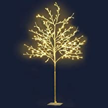 LED Christmas Tree LED Tree Christmas Branch Tree Xmas Warm White Optic Fiber Jingle Jollys (1.5m)