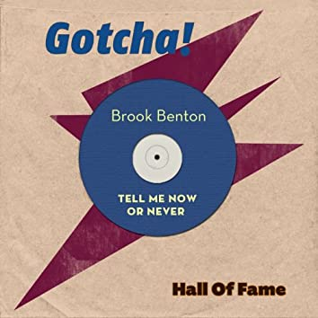 Tell Me Now or Never (Hall of Fame)