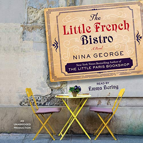 The Little French Bistro audiobook cover art