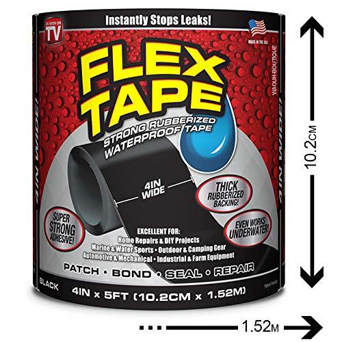 👊 FLEX TAPE Cinta de reparación muy resistente 10,2 cm