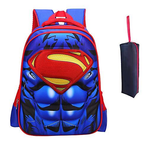 Mochila para niños Mochila primaria superhéroe hombre araña mochila para niños