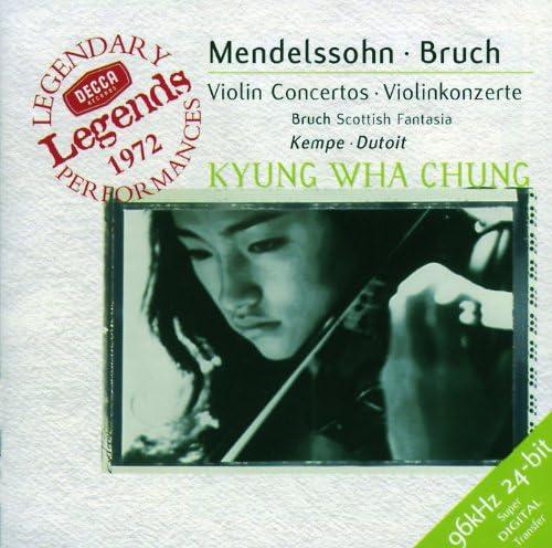 Kyung Wha Chung, Orchestre Symphonique de Montréal, Charles Dutoit, Royal Philharmonic Orchestra & Rudolf Kempe