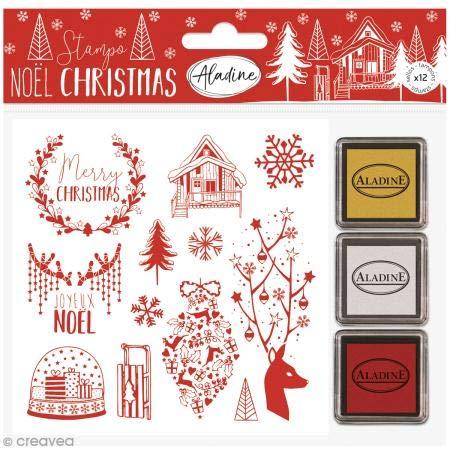 Aladine 03787 Stampo Weihnachten Alpin
