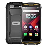 CUBOT Kingkong Mini2 Móvil Resistente al Golpes, Smartphone 4G con 4 Pulgadas Pantalla, Android 10, 3GB RAM+32GB ROM(SD 128Gb Ampliable), Dual SIM, Face ID, GPS, Naranja