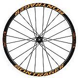 """Pegatinas Llantas Bici 29 """" BONTRAGER Aeolus Pro 3 WH03 Naranja"""