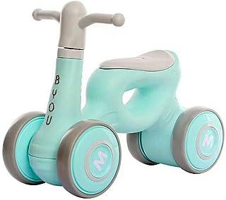 LJJY Bicicleta de Equilibrio para bebés, instalación Gratuita sin Pedal, 1-3 años