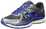 Brooks Men's Adrenaline GTS 17 Running Shoes Silver/Black/Anthracite 8.5