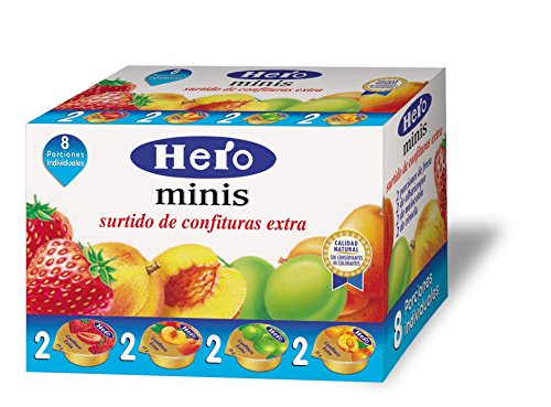 Hero Surtido de Confituras Minis Extra 8 Unidades de 25 g