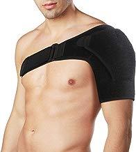 Hombro Apoyo de Neopreno Manguito ajustable del brazo superior y del hombro para el manguito rotador Lesión del desgarro del hombro y recuperación
