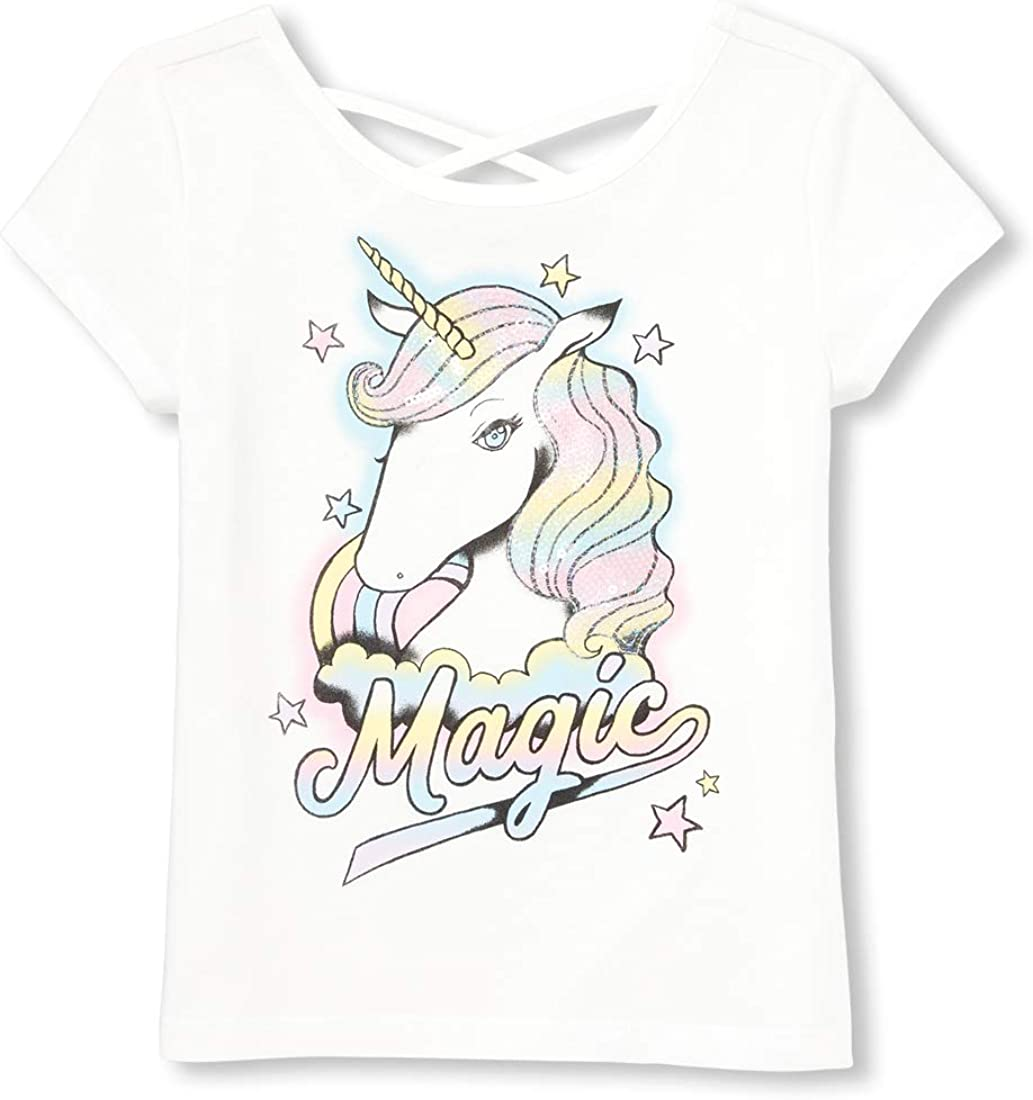 The Children's Place Big Girls' Novelty Graphic T-Shirt