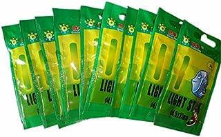 50PCS Mini Glow Sticks Fishing Float Light Up Compact Emergency Glow Light Sticks