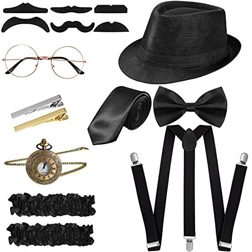 SATINIOR 1920s Men Costume Acces...