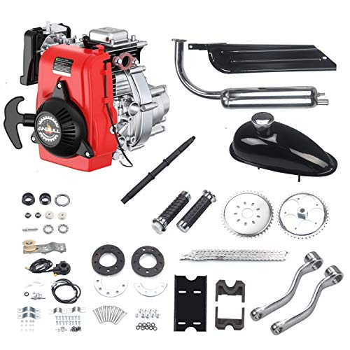 "Anbull 49CC 4 Stroke Gas Petrol Motorized Bike Bicycle Engine Motor Kit for 28"" V Frame Bike and 26"" ATV"