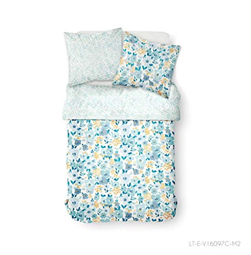 Today Susnhine 3.46 Bedding Set, Blue, 260 x 240 cm