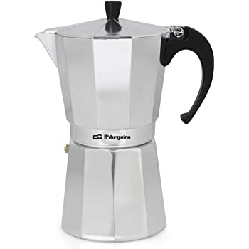Cafetera italiana ORBEGOZO KF1200 | ORBEGOZO 12 tazas Vitro Gas Electrico: Amazon.es: Hogar