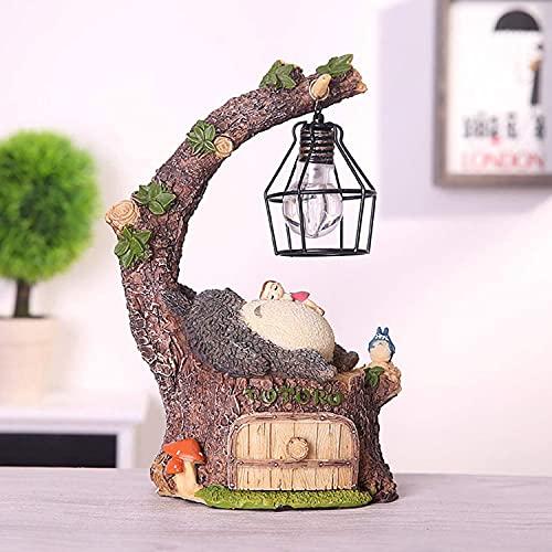 HS1 Il Mio Vicino Totoro ha Condotto la Luce Notturna per la Camera da Letto Studio Ghibli USB Luci da Comodino Lampada da Tavolo per Il miglior Regalo Decorazioni per la casa Kawaii,A