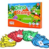 Barnacle Toys Dino Stomp, Dolch Sight Words Flash Cards Kindergarten Learning Games, Learning to Read for Kids Ages 5-7, 1st Grade Learning Materials, Reading Games for Kids Ages 4-8