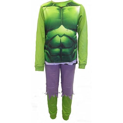 The Incredible Hulk Boys Pyjamas Ages 3-12 Years EXCLUSIVE DESIGN