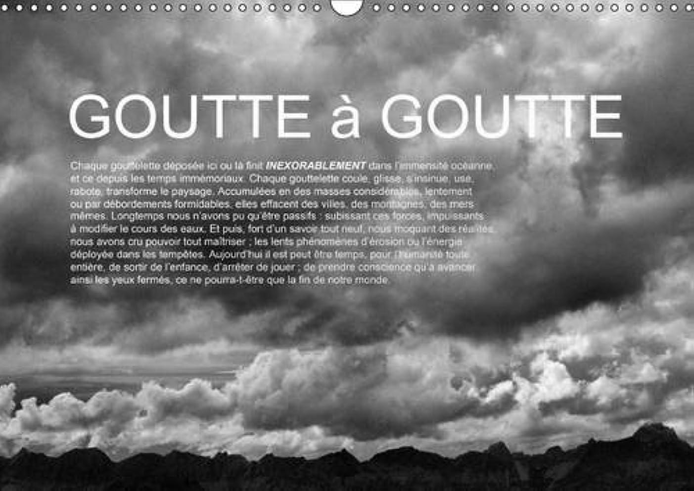無許可早くスキャンダルGoutte a Goutte 2017: L'Eau : De La Montagne a La Mer. (Calvendo Nature)