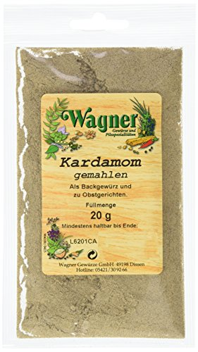 Wagner Gewürze Kardamom (Cardamom) gemahlen (1 x 20 g)