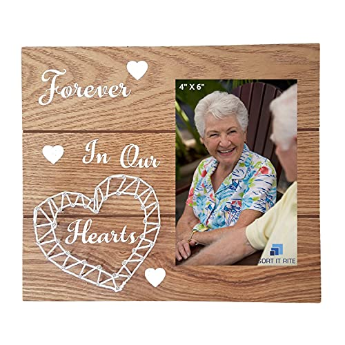 Memorial Picture Frame – Sympathy Gift for the Loss of Loved One – Bereavement Gift – Condolence Gift – Grandpa & Grandma Picture Frame - In Loving Memory Photo Frame - Pet Memorial Gift
