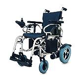 PXX Silla de Ruedas Plegable Personal Scooter Silla de Ruedas Inteligente Portátil Ligero - Respirable Del Acoplamiento Del Amortiguador Puede Proporcionar Confort Lavable