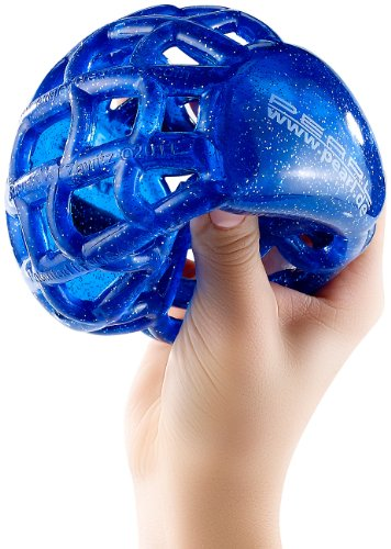 PEARL Wasserspielzeug: Schwimmfähiger Greifball Globus, Ø 11 cm (Wurfball)