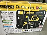 Champion 7000W Running / 9000W Peak DUAL FUEL Generator...