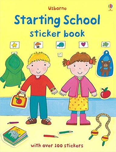 Starting School Sticker Book (First Sticker Books)