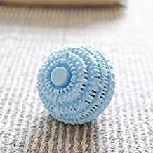 Reusable Laundry Cleaning Ball Magic Anti-Winding Laundry Washing Product Anionic Molecular Cleaning Tool (Color : 1Pcs Ra...