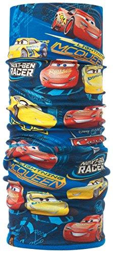 Buff Cars Polar Top, Scaldacollo in Microfibra E Pile Unisex Bambini, Blu/Odell Ibis Rose, Taglia Unica