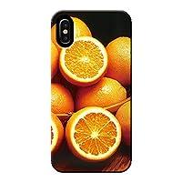 AQUOS sense4 lite SH-RM15 ケース 果物 オレンジ フルーツ ポップ 薄型 スマホ ハードケース カラフル A アクオス C000403_01