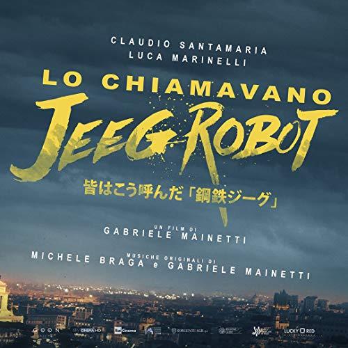 Zole Xap Lo chiamavano Jeeg Robot Movie   24inch x 24inch   Silk Printing Poster 002