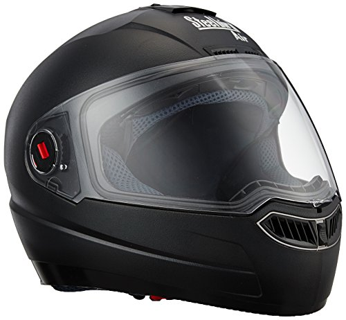 Steelbird Air SBA-1 Matte Full Face Helmet (Black, L)