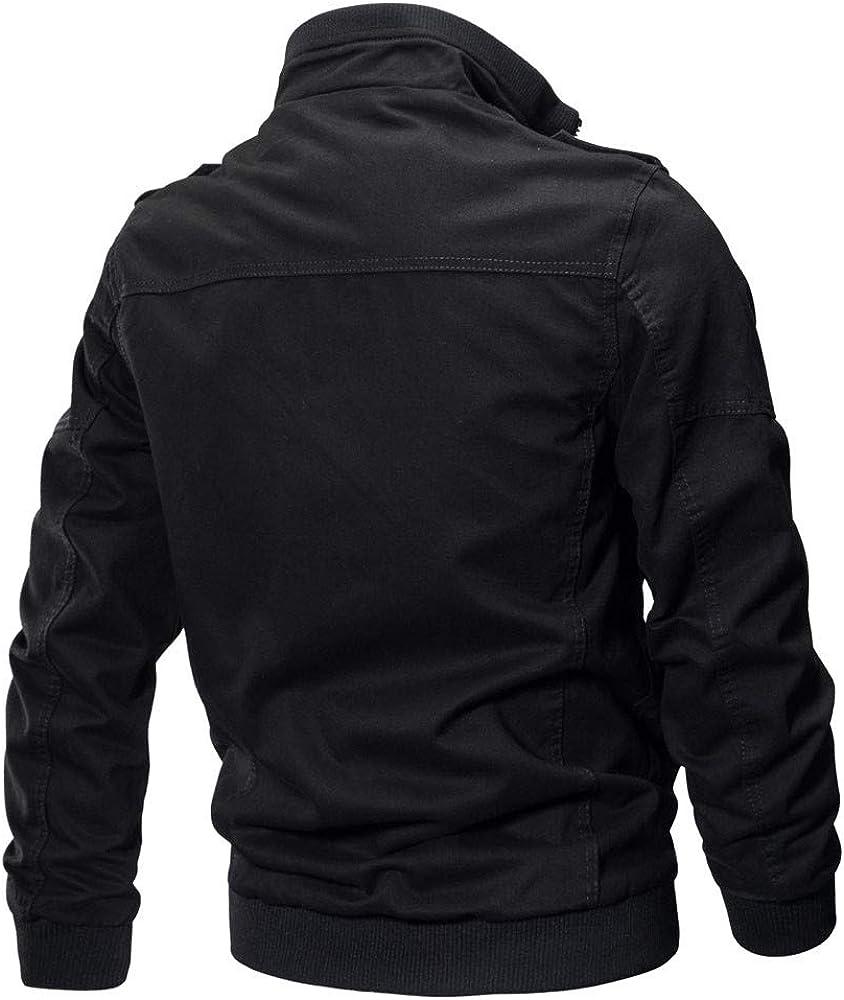 UOFOCO Men's Tactical Outwear Breathable Coat Clothing Coat Military Clothing Jacket