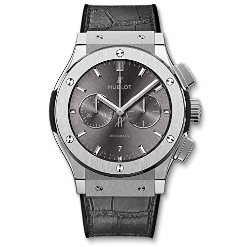 Gris Hublot Classic Fusion Chronograph 42mm Reloj para hombre 541.NX.7070.LR